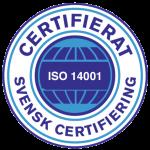 ISO 14001 certifikat