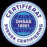 OHSAS 18001 certifikat